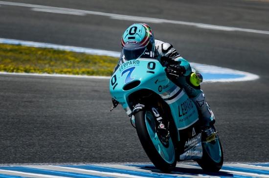 Qualifing practice during motoGP Jerez grand prix. 02, may 2015.